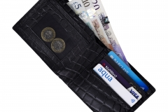 Wallet product photography